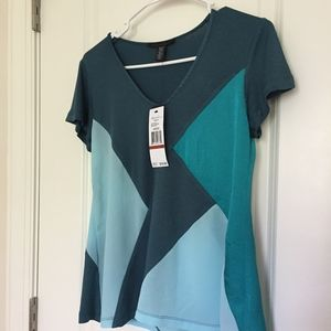 """Kenneth Cole """"Agate Combo"""" XS Top New with tags"""